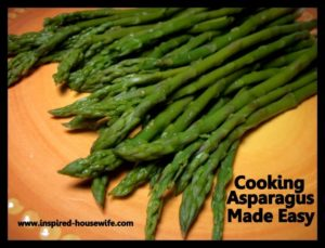Cooking Asparagus Made Easy