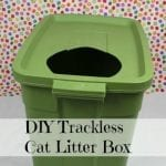 DIY Low Track Cat Litter Box