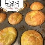 Healthy Egg Muffins - 21 Day Fix