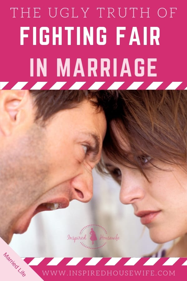 Learning to fight fair in marriage is a more challenging aspect of married life. Avoiding an unhappy marriage requires these key tips for happiness. #marriageadvice #marriagetips #married life #fightingfair #unhappymarriage
